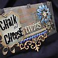 Chalk & Cheese Twins - Side